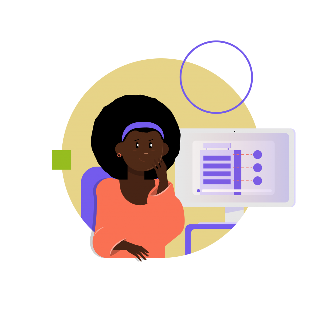 Online classes with animated video